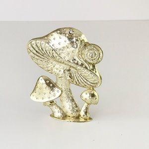 VTG Mushroom Earring Holder 70 Retro Funky Jewelry